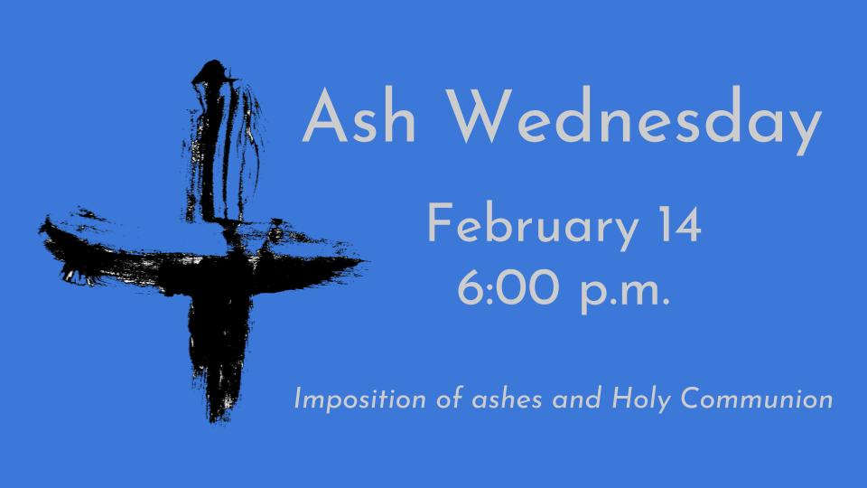 Ash Wednesday 2018