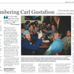 Article about Carl Gustafson